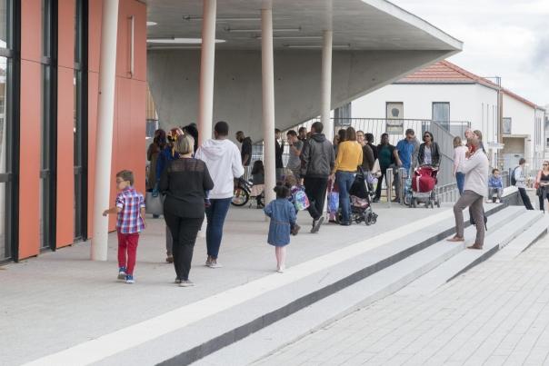 Rentrée scolaire à Cormeilles