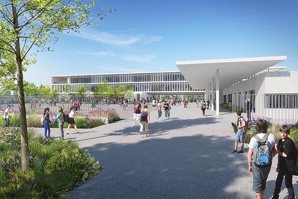Projection 3D du futur collège