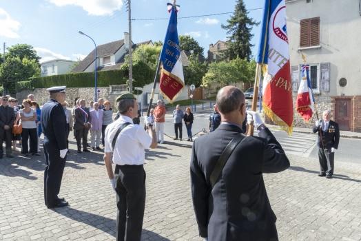 Cérémonie commémorative de l'appel du 18 juin 1940