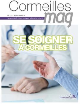 Cormeilles Mag de novembre - couverture