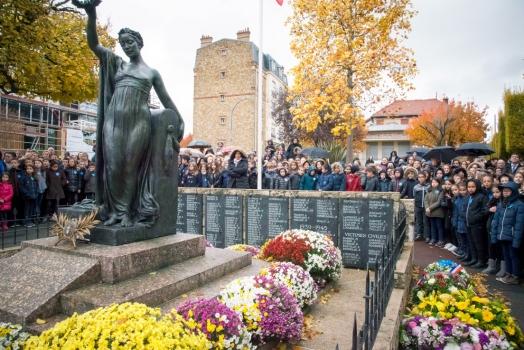 Commémoration du centenaire de l'Armistice, le 11 novembre 2018