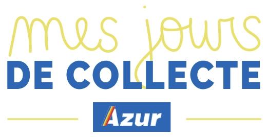 Mes jours de collecte Azur