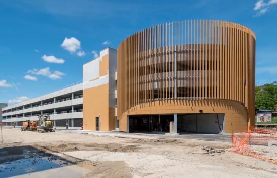 Parc relais de la gare : ouverture le 1er août 2021