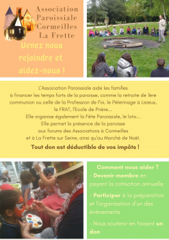 Association Paroissiale de Cormeilles/ La Frette