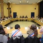 Le Conseil Municipal des Jeunes en réunion