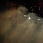 Brouillard sur la scène