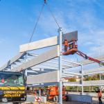 Construction du Parc Relais de la gare - Novembre 2020