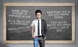Visuel affiche le Parisis emploi