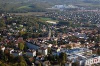 Vue aérienne de Cormeilles-en-Parisis