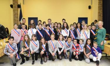 Le Conseil Municipal des Jeunes - Photo de groupe