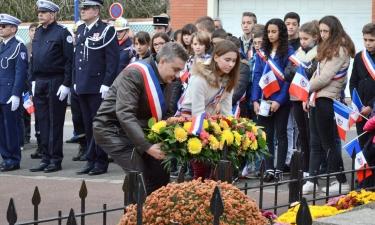 Commémoration du 11 novembre 2015