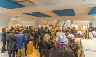 Inauguration de la médiathèque - janvier 2019