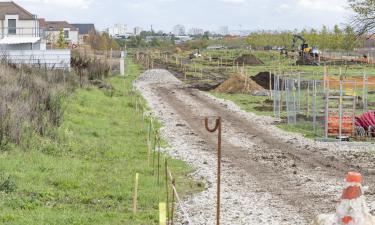 Coulée verte - deuxième phase de travaux octobre 2020