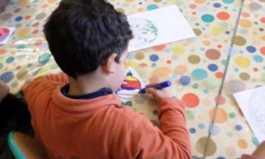 Activité coloriage de la maternelle Alsace Lorraine