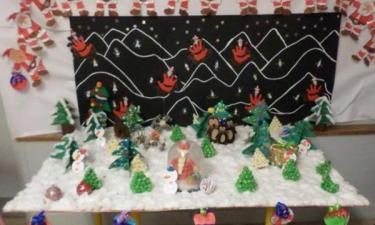 Activité Noël de la maternelle Alsace Lorraine