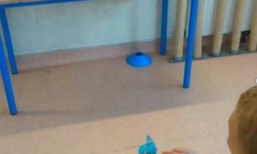 Activité fléchettes à la primaire Jules Ferry