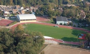 Vue aérienne du stade Gaston Frémont