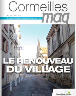 Couverture Cormeilles Mag 200