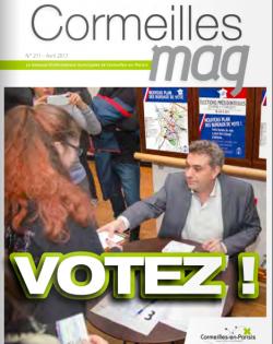 Couverture Cormeilles Mag 211