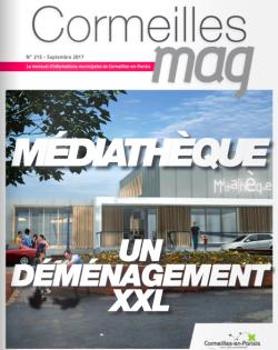 Couverture Cormeilles Mag 215