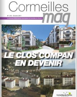 Couverture Cormeilles Mag 216
