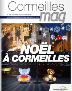 Couverture Cormeilles Mag 218