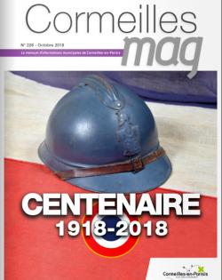 Couverture Cormeilles Mag 226