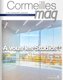 Couverture Cormeilles Mag 228