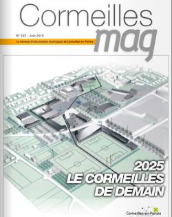 Couverture Cormeilles Mag 233