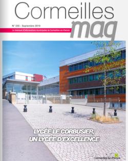Couverture Cormeilles Mag 235