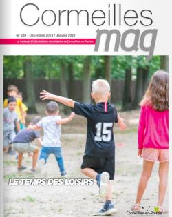 Couverture Cormeilles Mag 238