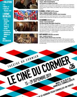 Couverture programme cinéma 26