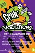 Programme Crok'Vacances Octobre 2020