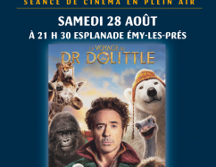 Cinété : Le Voyage du Dr Dolittle • Samedi 28 août