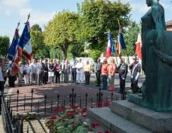 75e anniversaire de la libération de Cormeilles