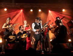 Féloche & The Mandolin Orchestra ©AlainScherer
