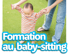 Formation au baby-sitting
