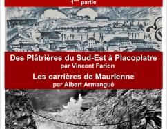 """Conférence """"Histoire du plâtre en Savoie"""" (1ère partie)"""