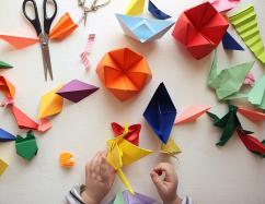 "Atelier créatif : ""Origami en folie"""