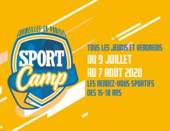 Sport Camp : Les rendez-vous sportifs des 15-18 ans