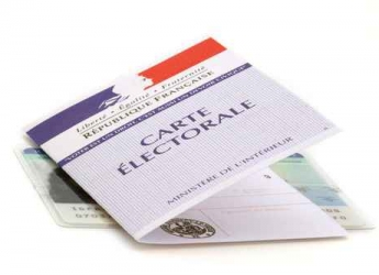 Inscriptions carte éléctorale