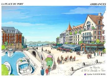 Création d'un nouveau quartier sur les quais de Seine
