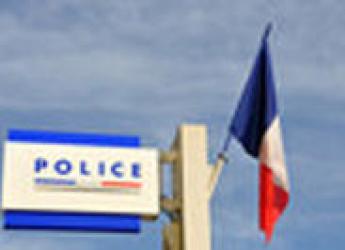 Plaque du bâtiment de la police