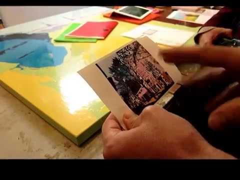 L'artiste Dale Joseph Rowe dans son atelier à Montreuil (2014)