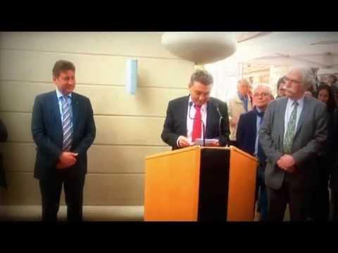 Discours du Maire, Yannick Boëdec pour l'inauguration du château Lamazière